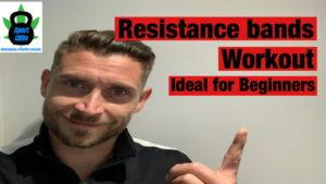 Resistance bands workout