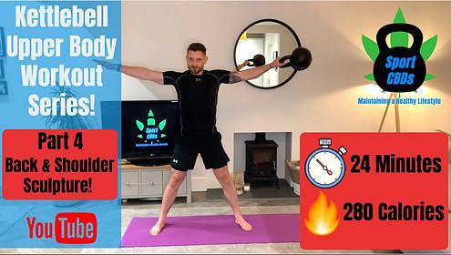 kettlebell upper body workout